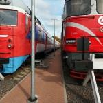 trinkelių klojimas geležinkelio stotyje