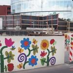 laikinos tvoros mieste